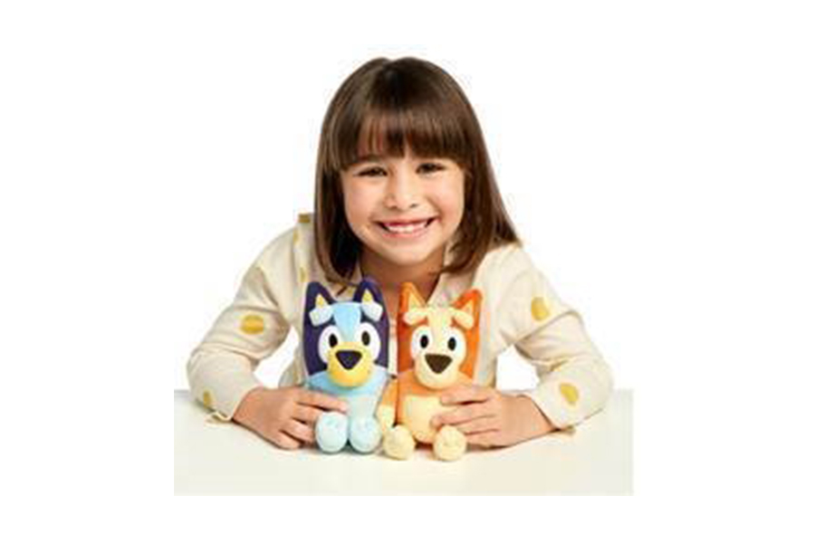 BLUEY LAUNCH TOYS IN THE U.S