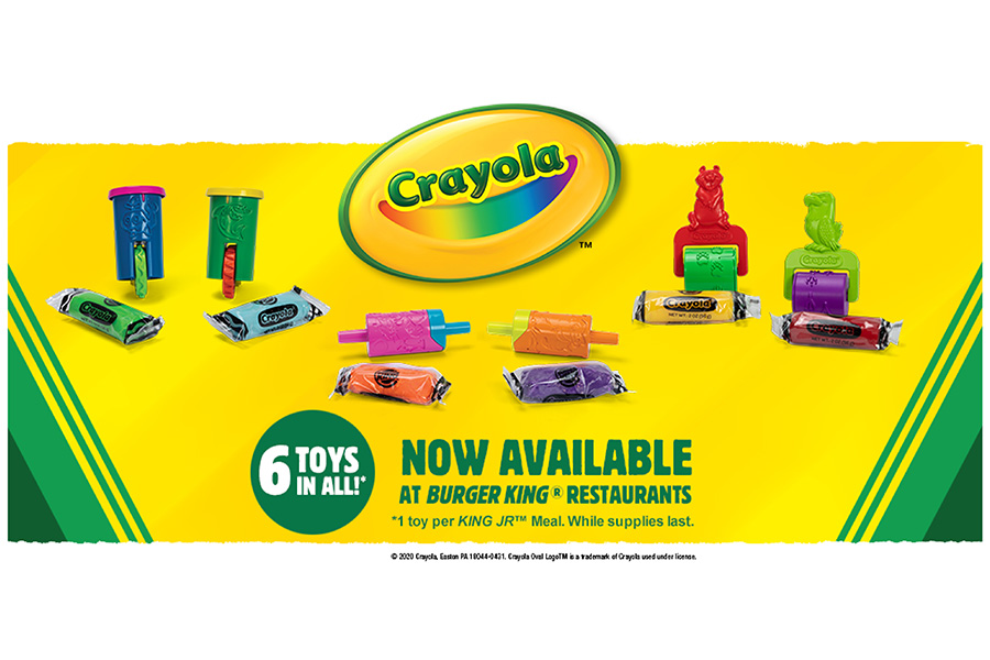 BURGER KING® AND CRAYOLA® COME TOGETHER