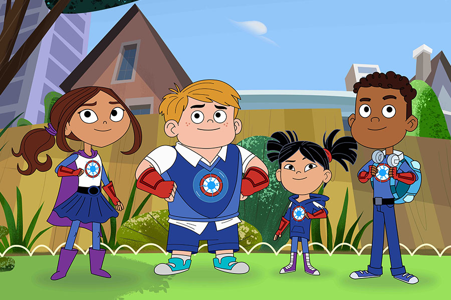 HERO ELEMENTARY ARRIVA SU PBS KIDS