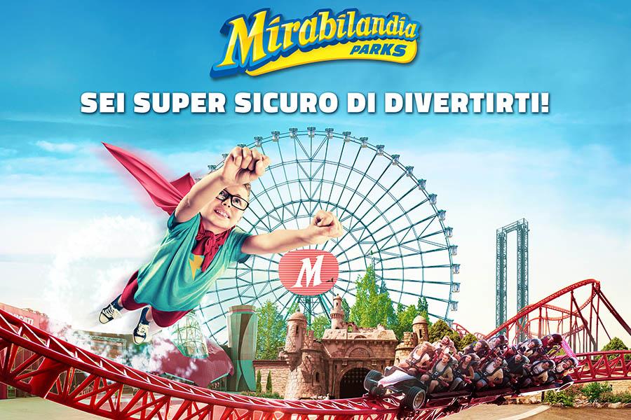 MIRABILANDIA: IL 20 GIUGNO RIAPRE IL PARCO PIU' GRANDE D'ITALIA