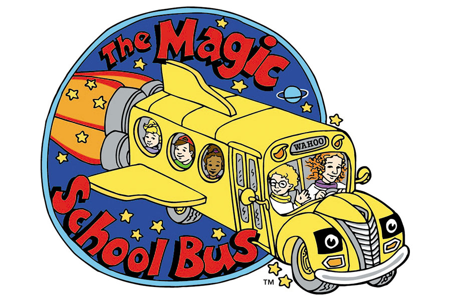 SCHOLASTIC ENTERTAINMENT READY TO BRING THE MAGIC SCHOOL BUS TO THE BIG SCREEN