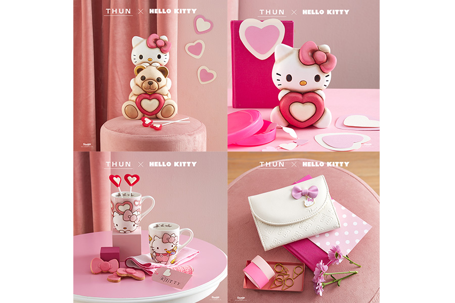 TEDDY THUN MEETS HELLO KITTY