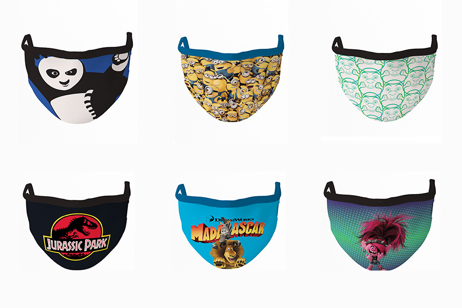 TTK COLLABORATES WITH UNIVERSAL BRAND DEVELOPMENT FOR CINEMASK