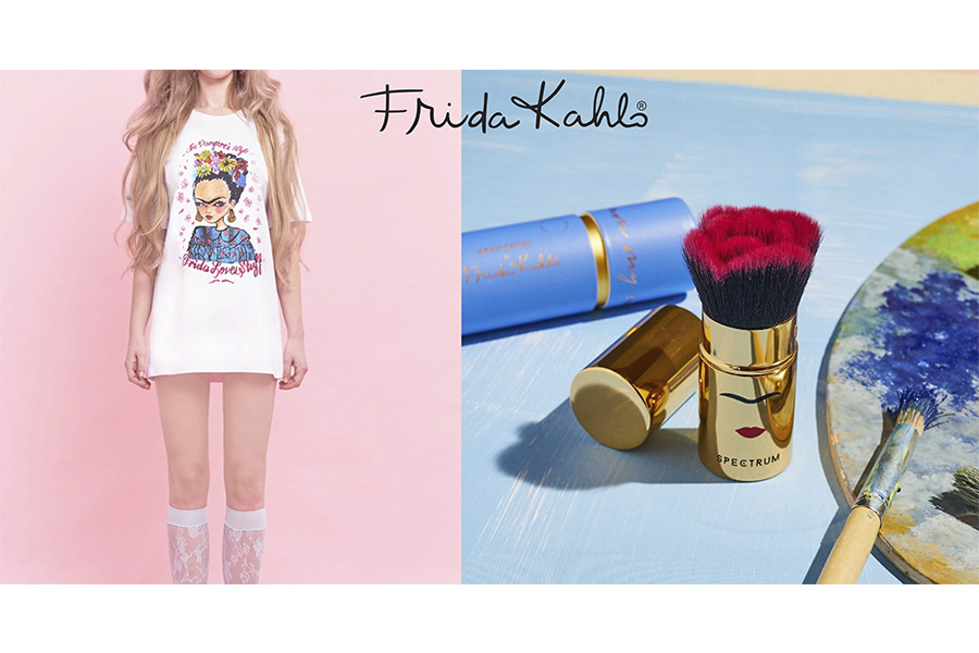 VAMPIRE'S WIFE AND SPECTRUM COLLECTIONS FOR LAUNCH NEW FRIDA KAHLO'S LINE