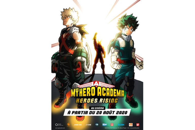 My Hero Academia Heroes Rising Smashes Its Way Into French Cinemas Licensing Magazine