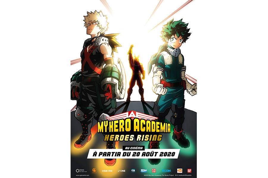 MY HERO ACADEMIA: HEROES RISING SMASHES ITS WAY INTO FRENCH CINEMAS