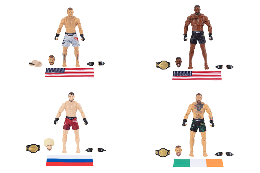 JAZWARES AND UFC LAUNCH NEW COLLECTIBLES LINE
