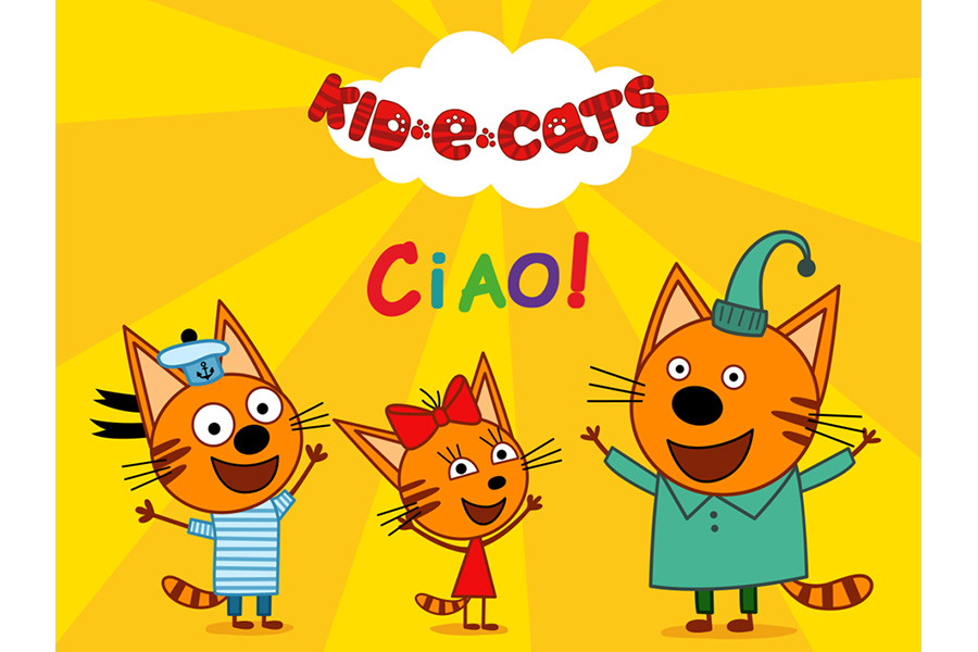 KIDS-E-CATS: BIG NEWS FOR ITALY!