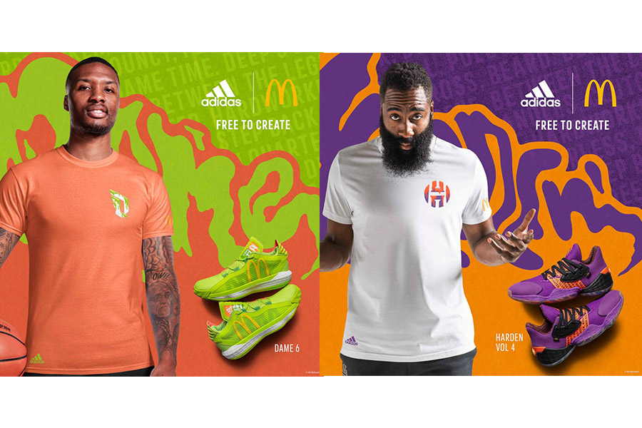 ADIDAS E MCDONALD'S LANCIANO THE SAUCE PACK