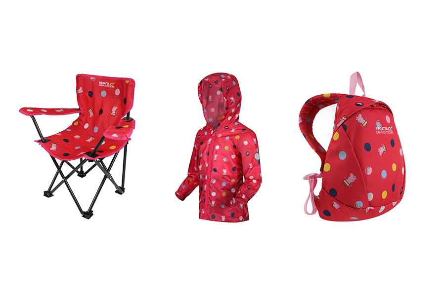 PEPPA PIG IN A PARTNERSHIP WITH REGATTA GREAT OUTDOORS