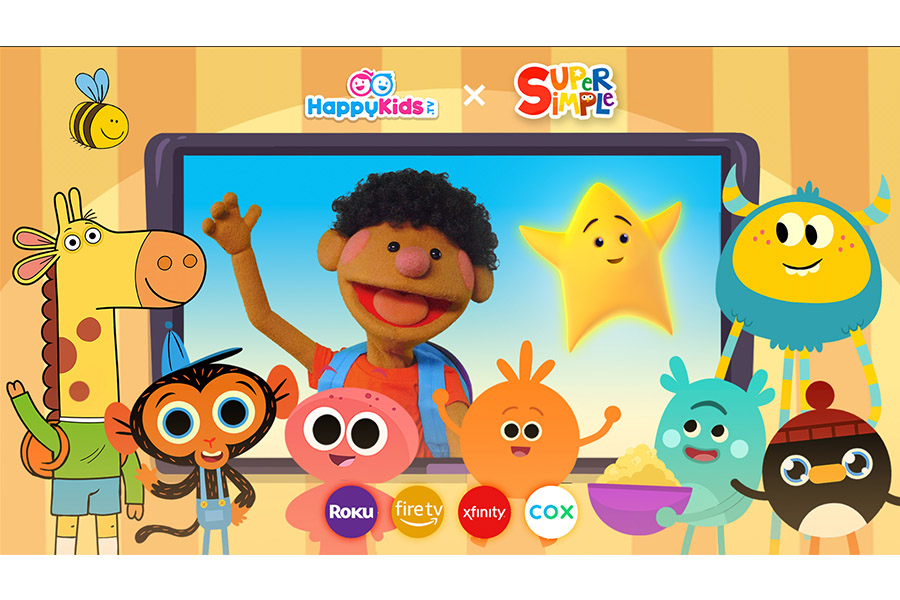 HAPPYKIDS CHOSEN TO EXPAND SUPER SIMPLE SONGS® BEYOND YOUTUBE