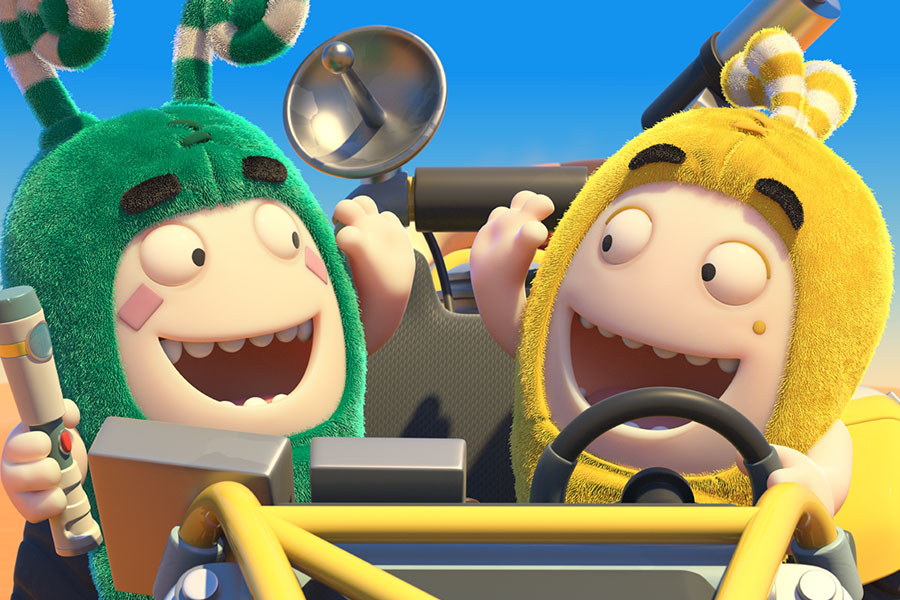 ONE ANIMATION'S LATEST SEASON OF ODDBODS GOES GLOBAL