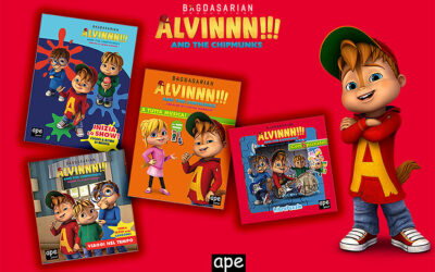 NEW ALVINNN!!! AND THE CHIPMUNKS BOOK SERIES