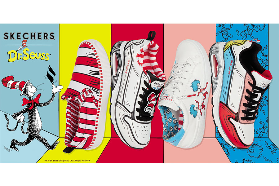 Surichinmoi Dinkarville asesinato  SKECHERS X DR. SEUSS FOOTWEAR COLLECTION LAUNCHES | Licensing Magazine