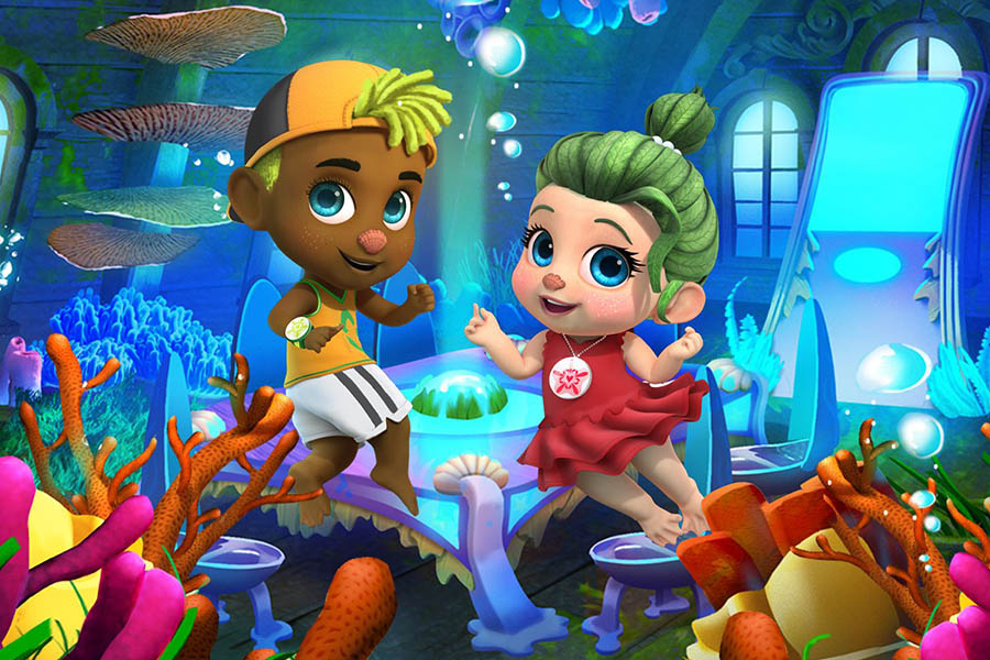 STUDIO 100 GROUP AND SEABELIEVERS JOIN FORCES FOR THE SERIES SEABELIEVERS