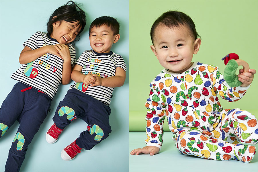 JOJO MAMAN BEBE ANNOUNCE NEW COLLECTION OF THE VERY HUNGRY CATERPILLAR