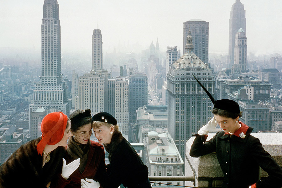 NEW FACES FOR NORMAN PARKINSON