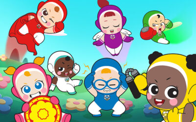 WILDBRAIN SPARK BRINGING PARK STAR MEDIA'S SUPER BINKS TOY BRAND TO AVOD