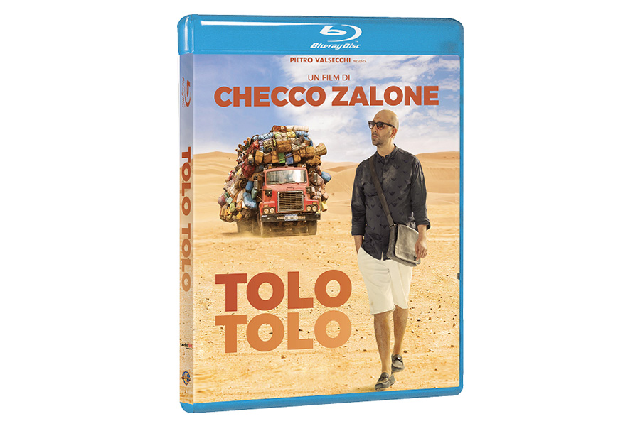 TOLO TOLO DI CHECCO ZALONE ARRIVA IN DVD e BLU-RAY™ DAL 10 SETTEMBRE