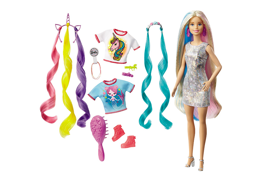 A THOUSAND SHADES OF COLOR FOR THE NEW BARBIE