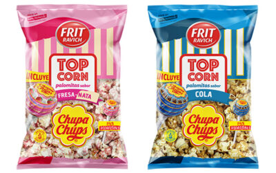 """CHUPA CHUPS AND FRIT RAVICH JOIN FORCES TO LAUNCH """"TOP CORN"""""""