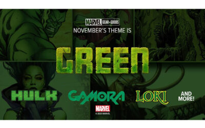 HULK SMASHES NEW MARVEL GEAR & GOODS LOOT CRATE!