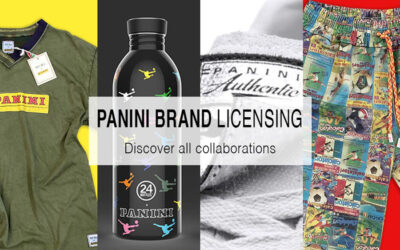 "THE NEW B2B ""PANINI BRAND LICENSING"" WEBSITE IS ONLINE"