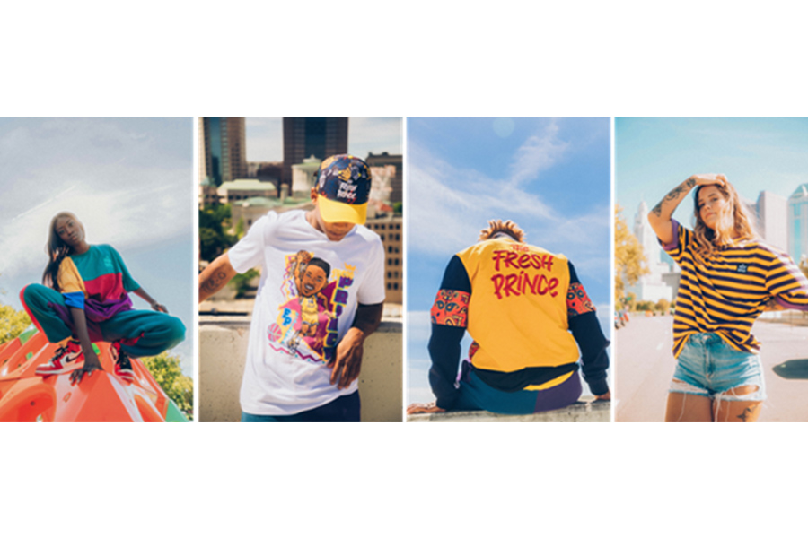 NEW LIMITED-EDITION CAPSULE COLLECTION BY THE FRESH PRINCE