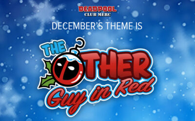 THE OTHER GUY IN RED WILL DELIVER ALL THE DEADPOOL COLLECTIBLES YOU WILL WANT