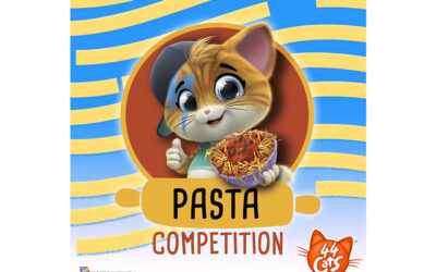 44 CATS' PASTA COMPETITION GOES VIRAL