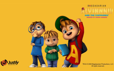 JUSTLY HAS ACQUIRED THE LICENSEES OF ALVINNN!!! & THE CHIPMUNKS