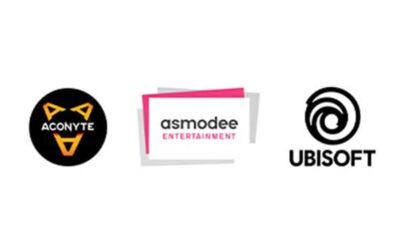 ACONYTE BOOKS & UBISOFT® COLLABORATE TO PUBLISH NEW GAME-BASED NOVELS