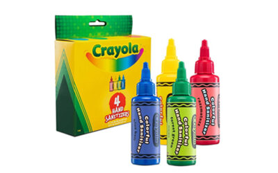 C+A GLOBAL INTRODUCES A NEW LINE OF CRAYOLA HAND SANITIZERS