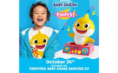 PINKFONG BABY SHARK FINFEST ANNOUNCEMENT!