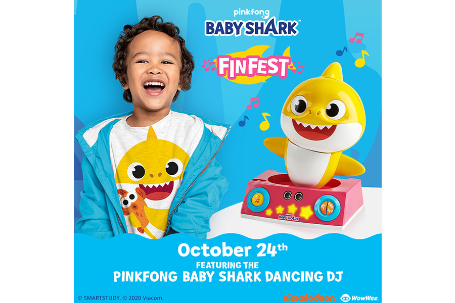 PINKFONG BABY SHARK FINFEST ANNOUNCEMENT!