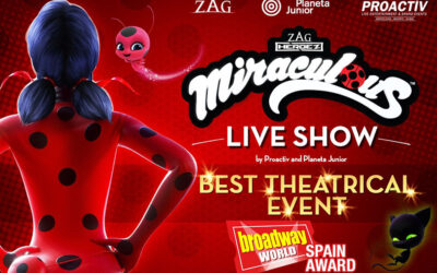 MIRACULOUS, THE LADY BAG SHOW MUSICAL WINS BEST THEATRICAL EVENT OF THE YEAR