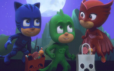 "PJ MASKS AND SOS VILLAGGI DEI BAMBINI UNITE THIS HALLOWEEN TO ""GIVE A TREAT"""