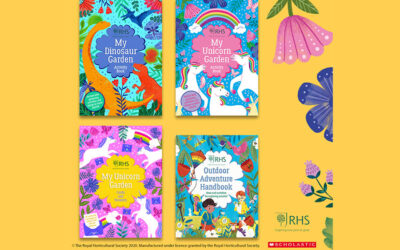 RHS AND SCHOLASTIC TO LAUNCH NEW ACTIVITY BOOKS FOR CHILDREN
