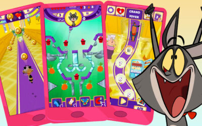 "NEW MOBILES AND TABLETS GAMES ""TAFFY: FEED THE KITTY"""