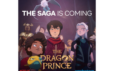 WONDERSTORM COLLABORATES WITH STRIKER ENTERTAINMENT FOR SERIES THE DRAGON PRINCE