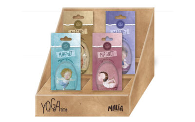 "HERE IS THE NEW ""YOGA TIME"" COLLECTION BORN FROM THE COLLABORATION OF PON PON EDITIONS WITH GAPCHINSKA REPRESENTED BY MDL"
