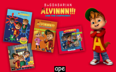 A NEW ALVINNN!!! AND THE CHIPMUNKS BOOK SERIES HAS ARRIVED IN ITALY