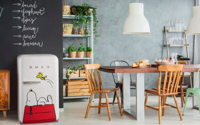 SMEG CELEBRATES PEANUTS' 70TH ANNIVERSARY WITH COOL COLLAB