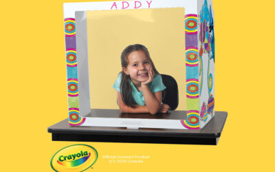 THE BEISTLE COMPANY LAUNCHES NEW CRAYOLA® COLOR YOUR OWN DESK SHIELDS