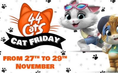 IL 27 NOVEMBRE È CAT FRIDAY NELLO STORE AMAZON DI 44 GATTI!
