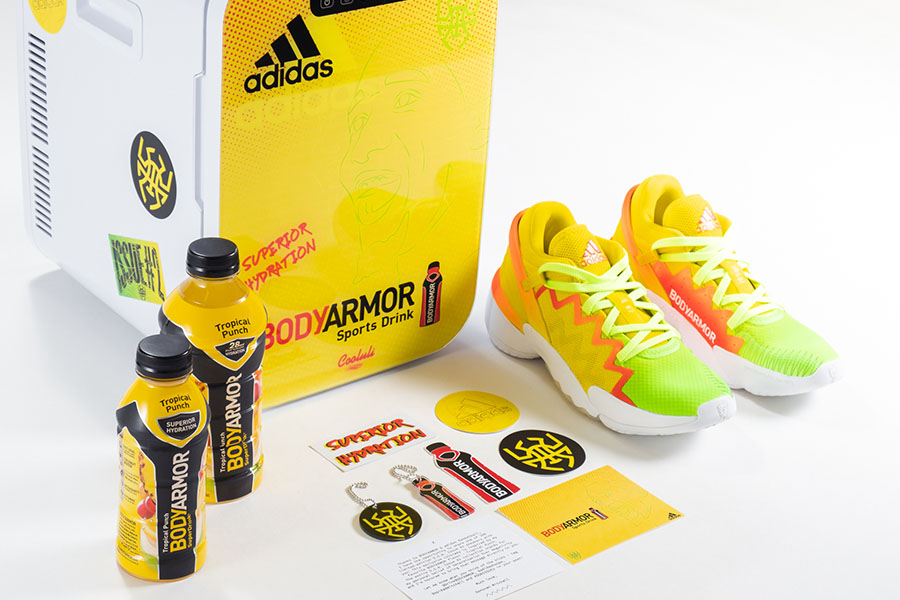 DONOVAN MITCHELL X ADIDAS LIMITED-EDITION BODYARMOR SNEAKER
