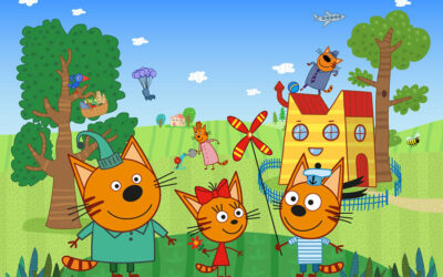APC KIDS SIGNS TRIO OF NEW LICENSING AGENTS FOR HIT SERIES KID-E-CATS