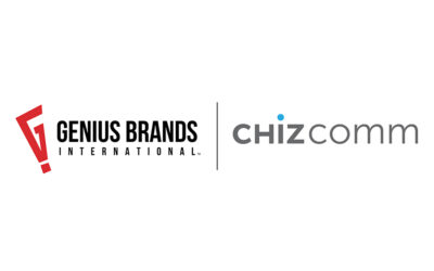 GENIUS BRANDS INTERNATIONAL ANNUNCIA L'ACQUISIZIONE DI CHIZCOMM LTD. E CHIZCOMM BEACON MEDIA