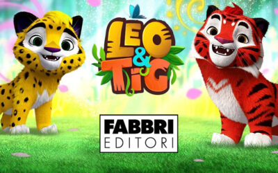 FABBRI EDITORI WILL LAUNCH IN ITALY LEO&TIG BOOK SERIES