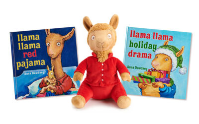 "GENIUS BRANDS INTERNATIONAL E PENGUIN YOUNG READERS LANCIANO IL MERCHANDISING A MARCHIO ""LAMA LAMA"""